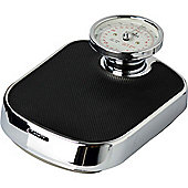 Harbour Housewares Traditional Chrome Bathroom Scales - 25st (160kg)