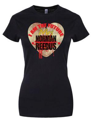 I Am The Future Mrs Norman Reedus Women's T-shirt, Black.