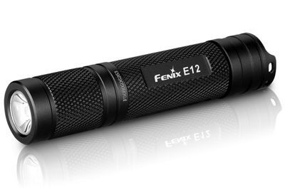 Fenix E12 Torch Aluminium 130 Lumens