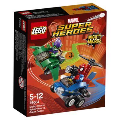 LEGO Super Heroes Mighty Micros: Spiderman vs. Green Goblin 76064