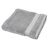Egyptian Cotton Silver Bath Sheet