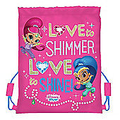 Shimmer and Shine 'Love' Trainer Bag
