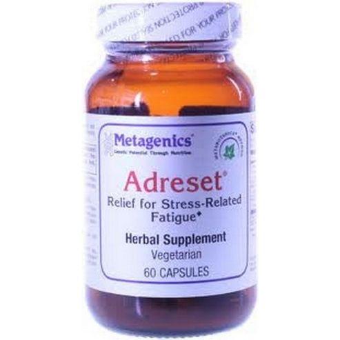 Metagenics Adreset Relief for Stress-Related Fatigue 60 Capsules