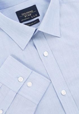 F&F Regular Fit Long Sleeve Shirt Blue 18