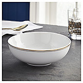 Fox & Ivy Soho Gold  Cereal Bowl