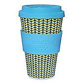 Ecoffee Cup Norweaven with Aqua Silicone 14oz