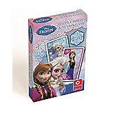 Disney Frozen 2-In-1 Happy Families and Action Game Playing Cards - Games/Puzzles