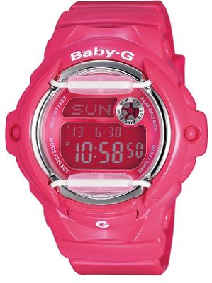 Casio BG169R/4B Baby G Watch with World Time - Pink