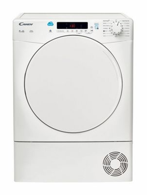 Candy 9kg Condenser Tumble Dryer CSC9DF- White
