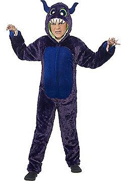 Monster Children's Costume - Purple & Multi