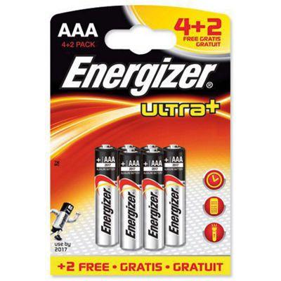 Energizer UltraPlus Battery Alkaline LR03 1.5V AAA