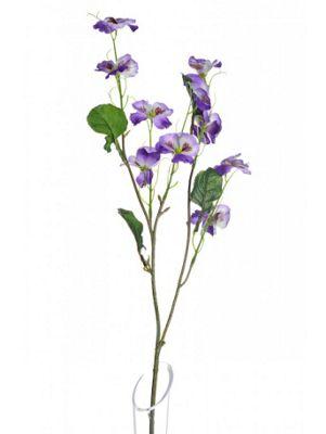 Artificial - Pansy Spray - Purple