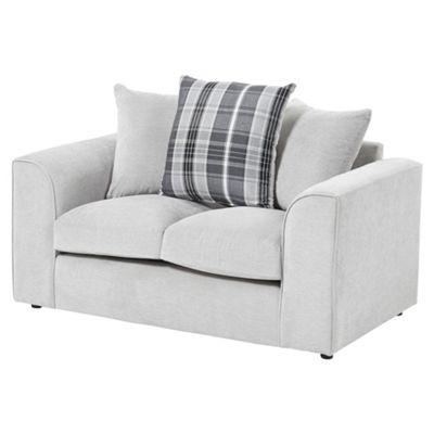 Wrayton Scatterback Compact 2 Seater Sofa, Grey