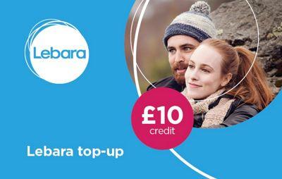 Lebara £10 mobile Top Up