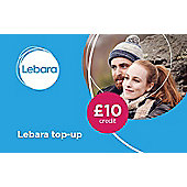 Lebara £10 mobile Top Up