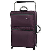 it luggage Worlds Lightest 2 Wheel Purple/Grey Medium Suitcase
