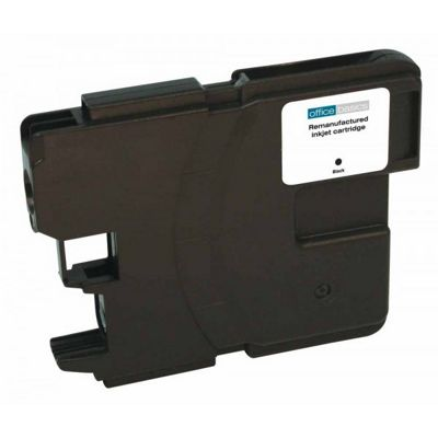 Office Basics Brother Remanufactured LC-980 Inkjet Cartridge High Capacity Black LC980B
