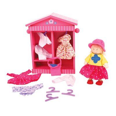 Bigjigs Toys Daisy's Wardrobe