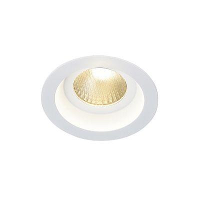 Boost Downlight Round White 9W LED Warm White Aluminium