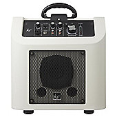 KITSOUND KINGSTON PORTABLE PA SYSTEM WHITE