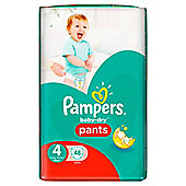 Pampers Baby Dry Pants Size 4 Large 48