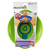 Munchkin White Hot plates (Green/Orange)