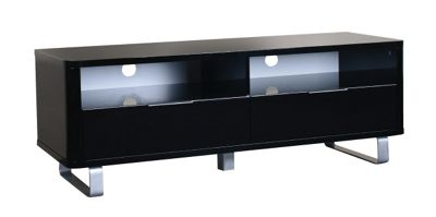 Home Zone Occasional Remedy TV Stand - Black