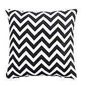 EHC Chenille Chevron Pattern Cushion Cover