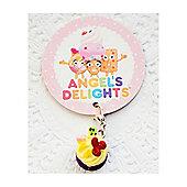 Children's Fresh Fruit Cupcake Clip on Charm
