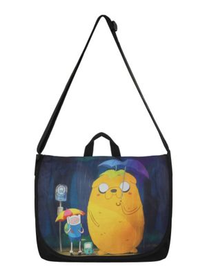 Adventure Time Totoro Style AT Messenger Bag 43x35x10cm