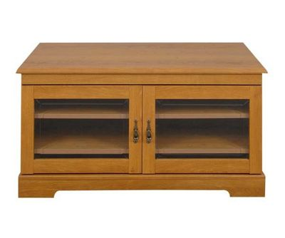 Caxton Canterbury Wooden Entertainment Cabinet Cabinet DVDs