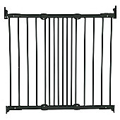 BabyDan Flexi Fit Gate Metal Black