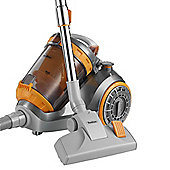 VonHaus 1200W Cyclonic Bagless 3L Cylinder HEPA Filtration Vacuum Cleaner with Turbo Brush, 5m Cord & 1.8m Hose