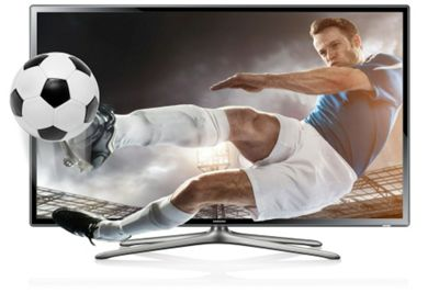 Samsung UE55F6100 55 Inch 3D Full HD 1080p LED TV With Freeview HD