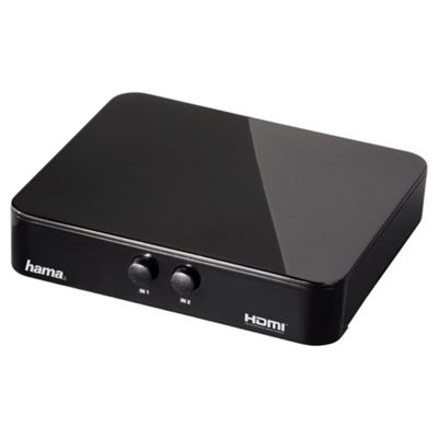 Hama G-210 HDM Switcher 2x1 supports 1080p resolutions Black