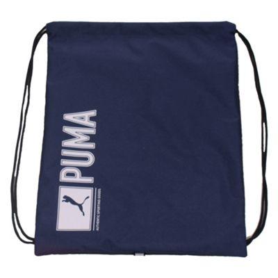 Puma Pioneer Sports Gymsack Shoulder Bag Navy Blue