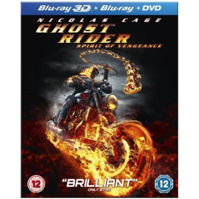 Ghost Rider - Spirit Of Vengeance (3D Blu-Ray)