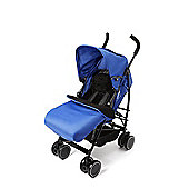 Your Baby - California Baby Buggy/Pushchair Blue & Footmuff/Cosytoes.