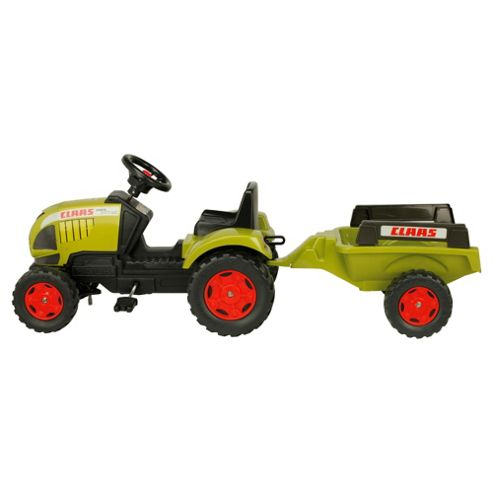 Claas Ride-On Tractor & Trailer