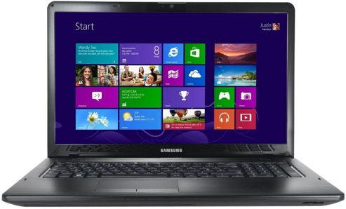 Samsung NP350E7C-A04UK 173 Intel Pentium Dual-Core 6GB/750GB Windows 8 Black
