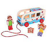 Bigjigs Toys Holiday Bus