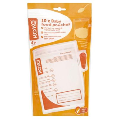 Koko Baby Food Pouches