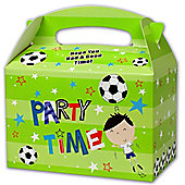 Simon Elvin Football Party Lunch Boxes - Pack Of 6