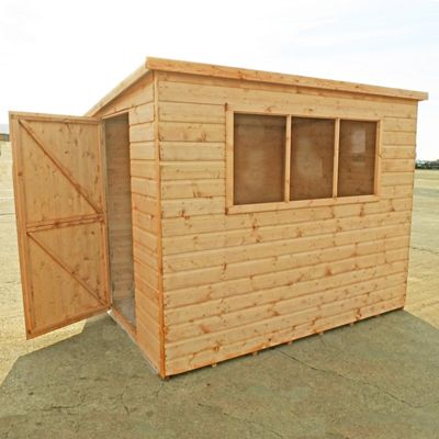 Finewood Pent Shed 6x4