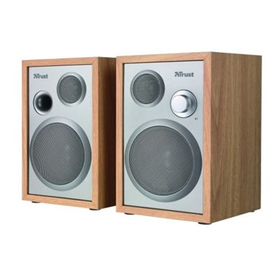 Trust Qubic 2.0 Wooden Design Speakers