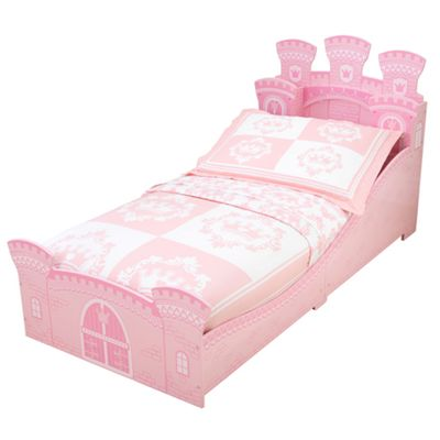 buy kidkraft princess castle toddler bed from our toddler beds