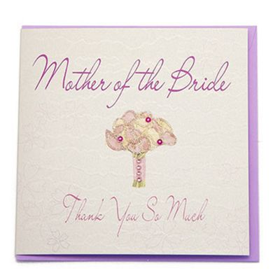 Buy Bliss Wedding Mother Of The Bride Wedding Card From Our