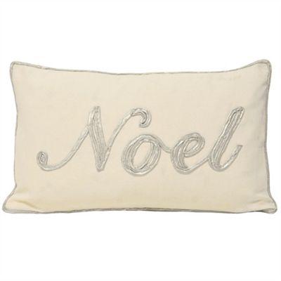 Riva Home Christmas Tide Noel Silver Cushion Cover - 30x50cm