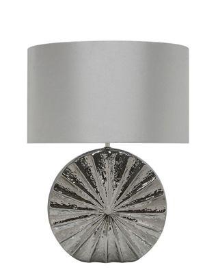 61cm Coastal Round Table Lamp
