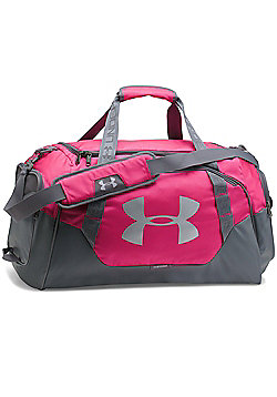 Under Armour Storm Undeniable 3.0 Medium Duffel Sports Bag - Pink/Grey